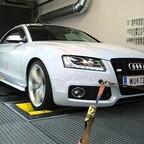 Audi A5 3,2 quattro am Lesitungsprüfstand Teil 2