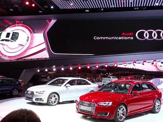Audi Pressekonferenz - IAA 2015