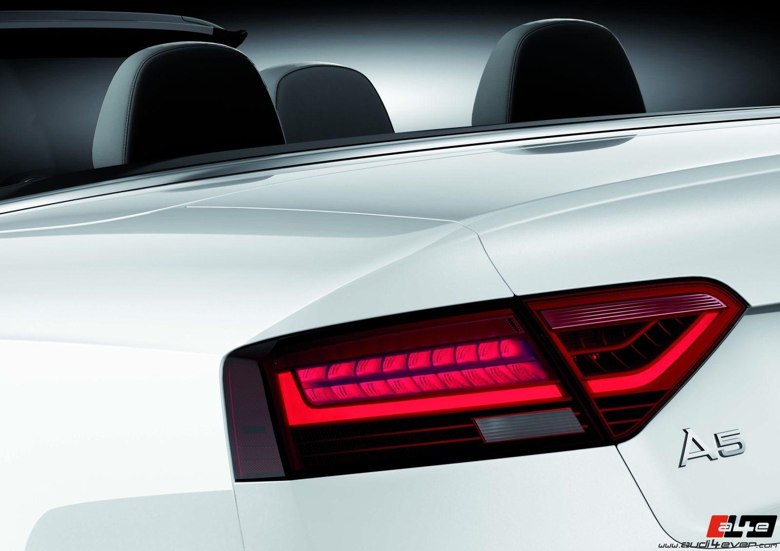 A4e Gallery Audi A5 Facelift Audi A5 Cabrio