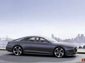 Audi Prologue piloted driving - 2015 Las Vegas