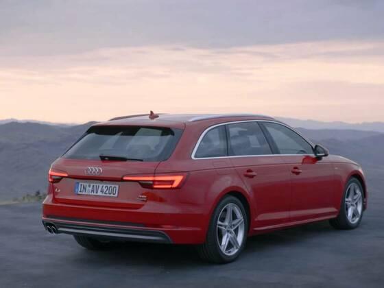 Audi A4 Avant Exterieur 2015