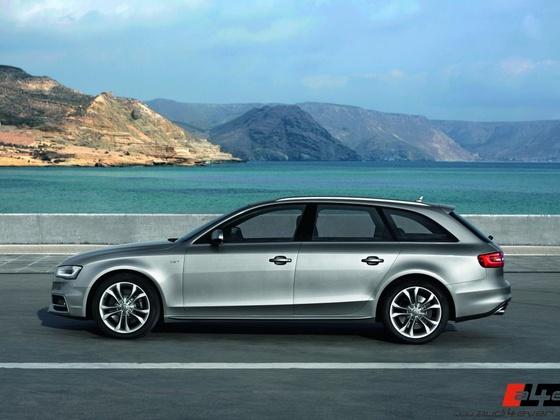 Audi S4 Avant/Standaufnahme