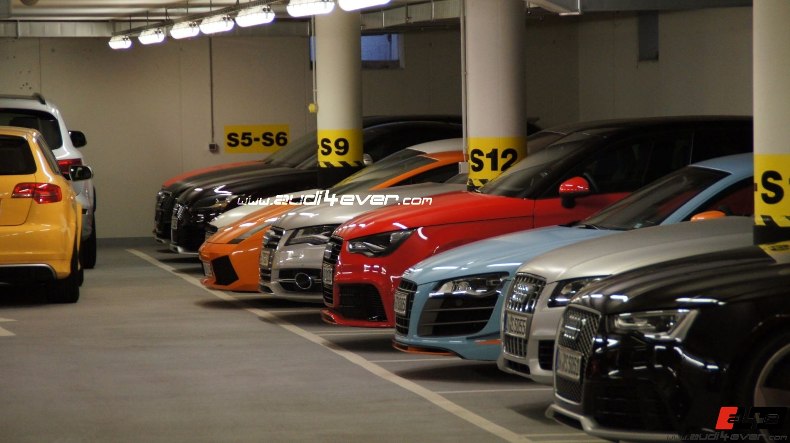 Audi4ever a4e blog detail a4e audi4ever spotted interne audi garage mit audi rs1 - Garage audi souffelweyersheim ...