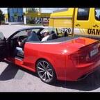 Audi RS5 Cabrio in freier Wildbahn