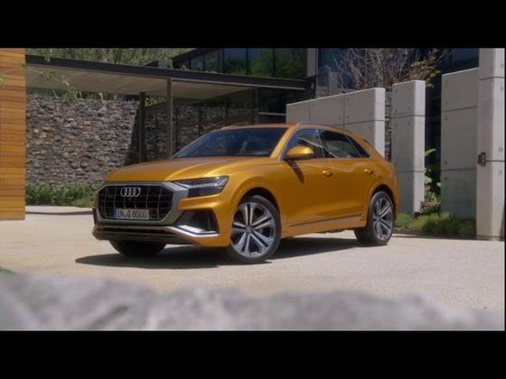 Audi Q8 Detailaufnahmen