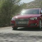 Audi A4 B9 Trailer 2015