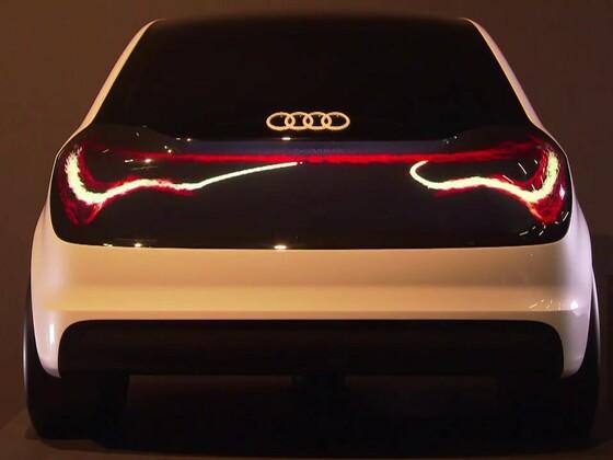 Audi Lichtkanal