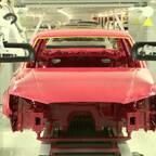 Audi Györ Produktion der A3 Limousine