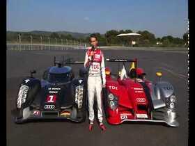 Audi R15 gegen Audi R18