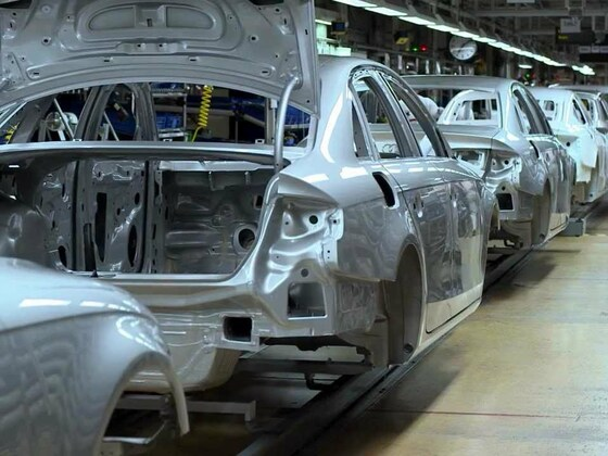 Audi A4 Produktion in Ingolstadt