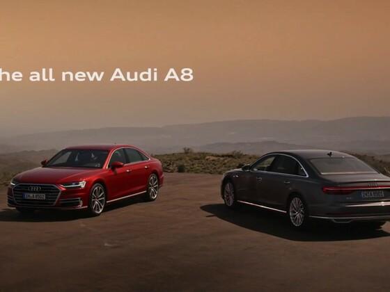 Audi A8 - Teaser 2017