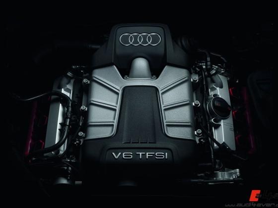 Audi S4/Motorraum