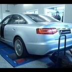 Audi A6 4F 3,0T auf dem Prüfstand
