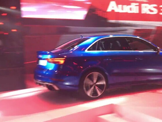 Video der Audi RS3 Limousine 2016