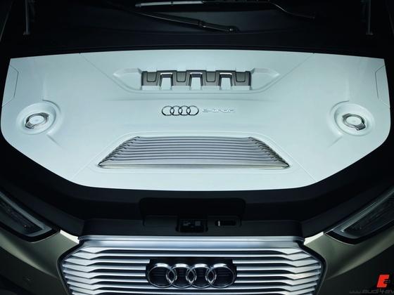 Audi A3 e-tron concept/Motorraum