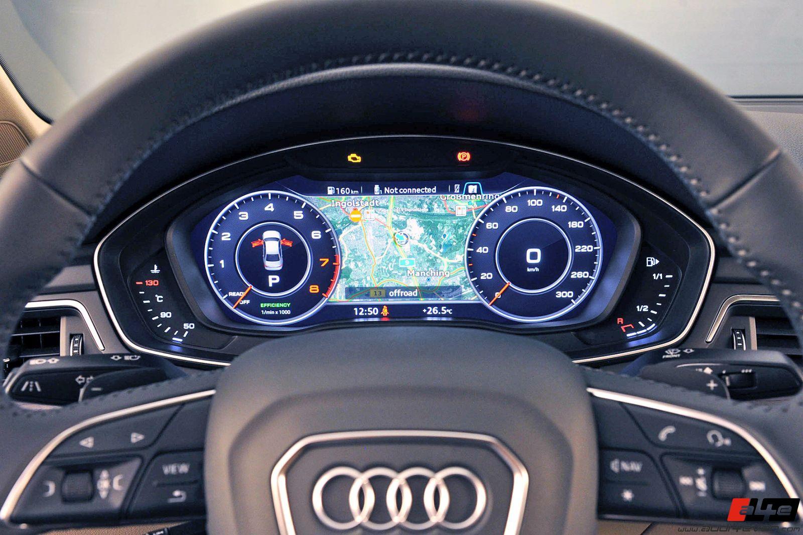A4e Gallery Audi A4 B9 Audi A4 B9 Live Bilder