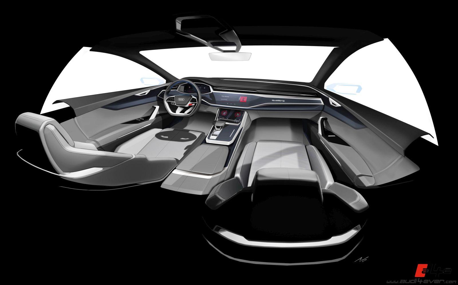 A4e Gallery Audi Concept Cars Audi Q8 Concept 2017