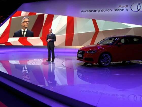 Audi Pressekonferenz Paris Motor Show 2012
