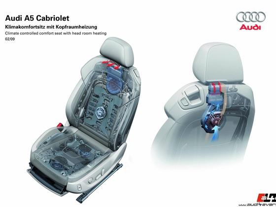 Audi A5 Cabriolet/Fahrzeugdaten