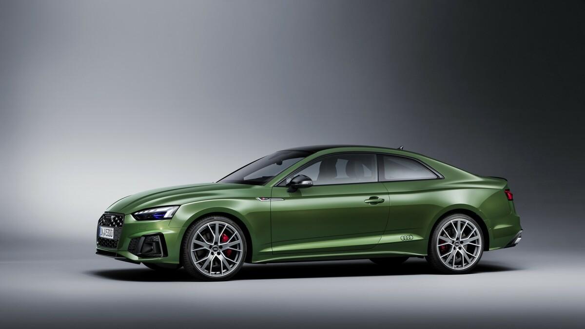 Audi A5 Coupe Facelift 2019