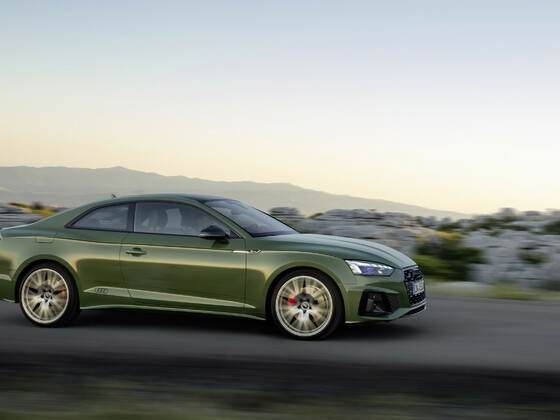 Audi A5 Coupe Facelift 2019