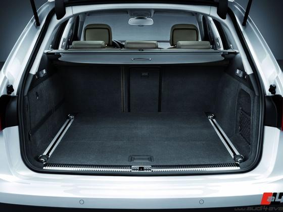 Audi A6 allroad quattro /Gepaeckraum