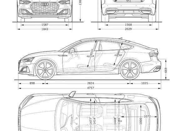 Audi A5 Facelift Technik 2019