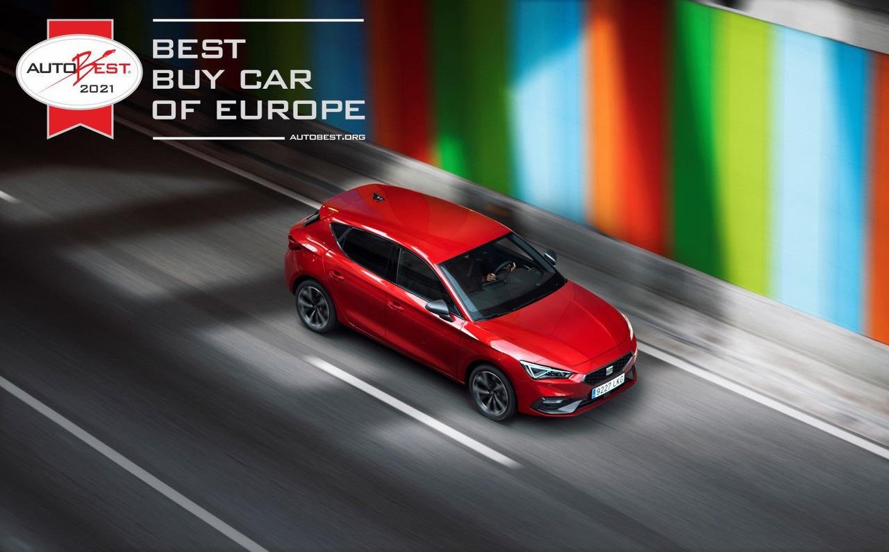 """Der neue SEAT Leon ist """"Best Buy Car of Europe 2021 ..."""