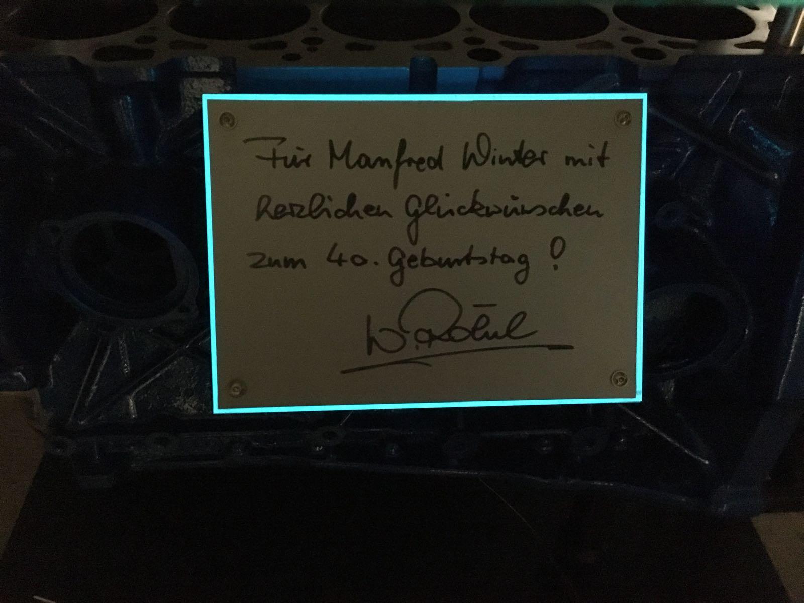 Walter Rohrl Ist Seit 25 Jahren Fur Porsche Tatig Audi4ever